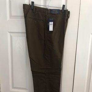 Ralph Lauren Stretch Classic Fit Army Green Pants